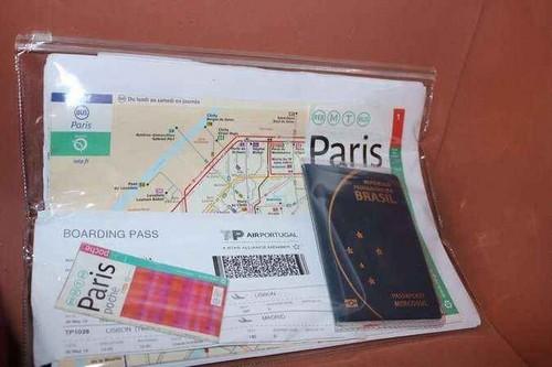 Saco de Plástico Zip Lock de Documentos