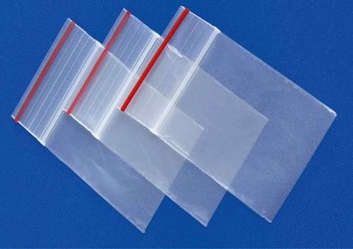 saco de plástico ziplock
