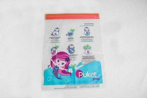 Saco em Plástico Personalizado Ziplock