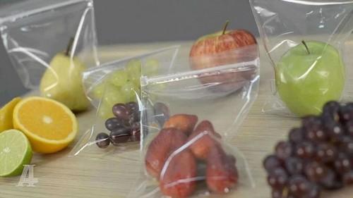 saco em plásticos com ziplock