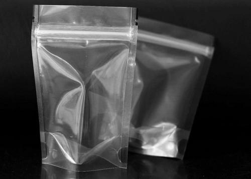 saco plástico com zip lock