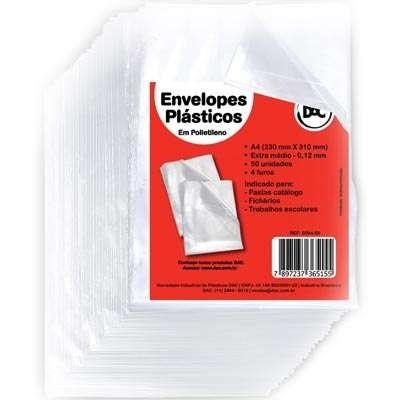 Sacos de Plástico de Documentos Empresariais