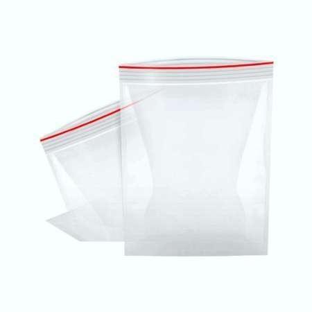 Sacos de Plástico Ziplock Transparente