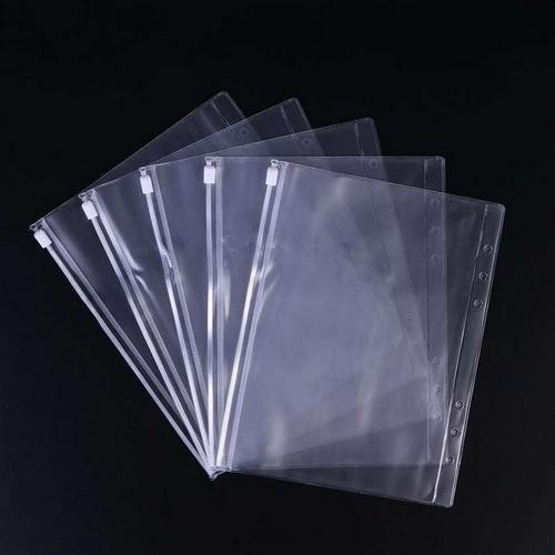 sacos plásticos com ziplock documento