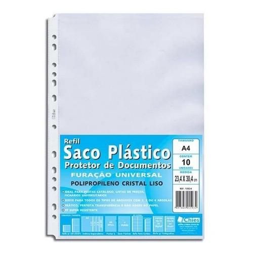 Sacos Plásticos de Documento Liso